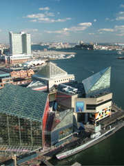 Baltimore Harbour from the World Trade Centre