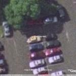 My car in Google Earth